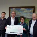 Karlheinz Arnau und Tim Schweiker spendeten Teile ihres Honorars