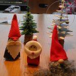 Basteln für den Weihnachtsbasar