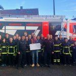 Großartige Spende der Maichinger Feuerwehr