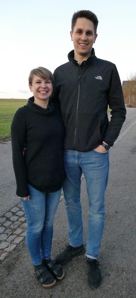 Franziska und Lukas Coulon (Bild Lück)